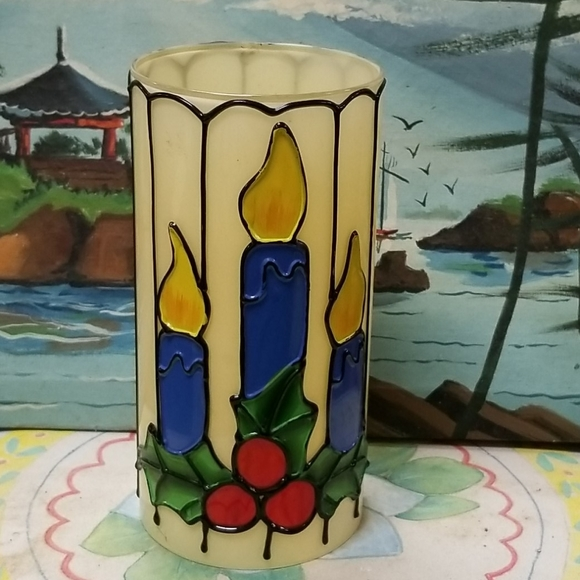 Vintage Candle cover